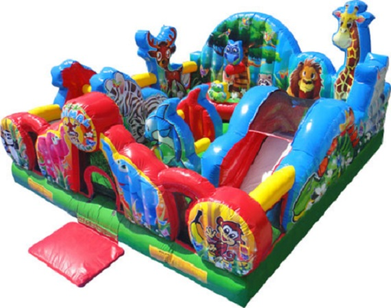 Animal Kingdom  - Toddler Inflatable Playground