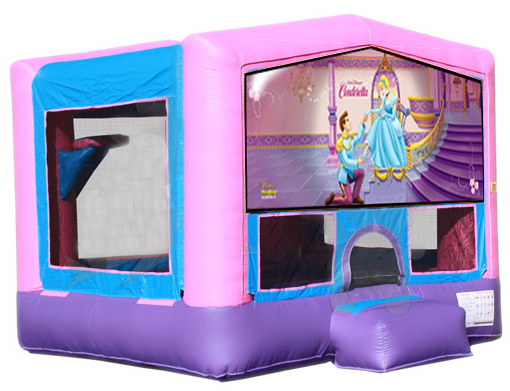 DISNEY'S CINDERELLA 2 IN 1 JUMPER (basketball hoop included)