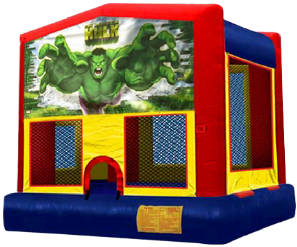 AMAZING 2 IN 1 HULK FROM AVENGERS (basketball hoop included)