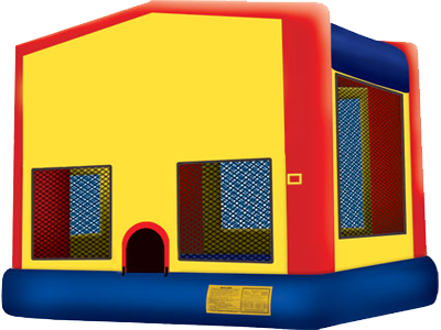 Fun House Bounce House - 2 in 1 Jumper -  Party Inflatable