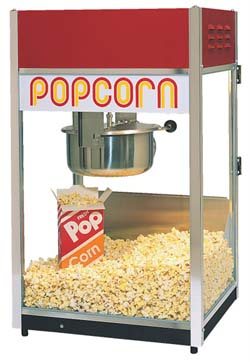 POP CORN MACHINES (add on only, NOT to deliver alone)