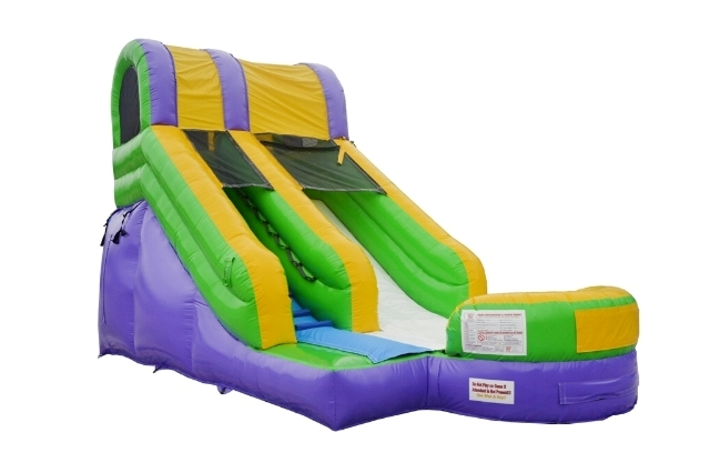 AAA 15ft HIGH, 24ft LONG SLIDE (with landing pool)