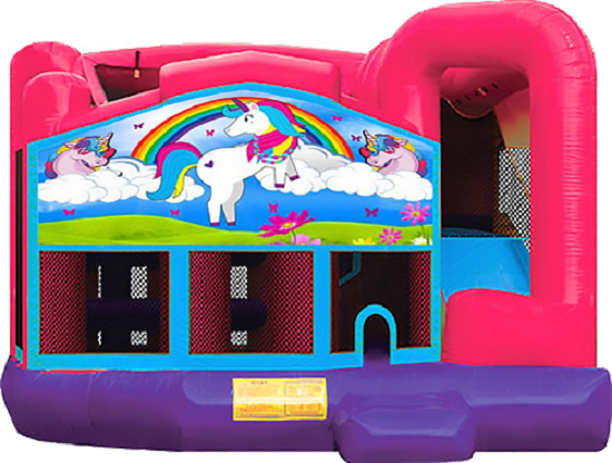 A UNICORN\'S TALE 5 IN 1 COMBO - Wet or Dry Party Inflatable