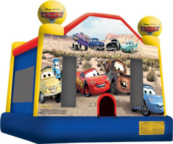 Pixar\'s Cars Bounce House - Licensed Party Inflatable