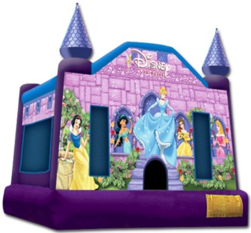 DISNEY PRINCESS BOUNCY CASTLE (Click for Details)