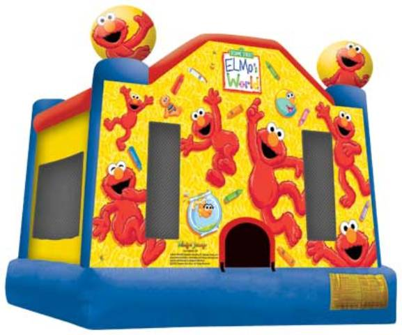 Elmo Bounce House Licensed Party Inflatable