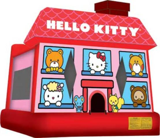 HELLO KITTY 3D (XL) LICENSED JUMPER (Click for Details)