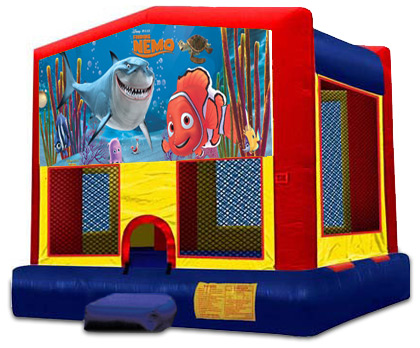FINDING NEMO 2 IN 1 MODULE JUMPER (basketball hoop included)