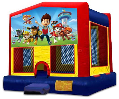 PAW PATROL 2 IN 1 BOUNCE HOUSE (basketball hoop included)