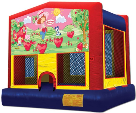 STRAWBERRY SHORTCAKE 2 IN 1 JUMPER (basketball hoop included)