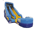 ADVENTURER SLIDE 21FT TALL, 35FT LONG WITH POOL