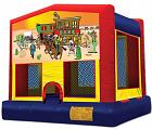 WESTERN / COWBOYS 2 IN 1 JUMPER (basketball hoop included)