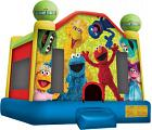 SESAME STREET LICENSED BOUNCE HOUSE