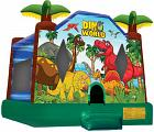 DINO WORLD JUMP (basketball hoop included)