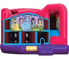 DISNEY PRINCESS 5 IN 1 COMBO - Wet or Dry Party Inflatable