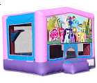 MY LITTLE PONY 2 IN 1 BOUNCE HOUSE (basketball hoop included)