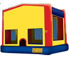 FUN HOUSE 2 IN 1 BOUNCE HOUSE (basketball hoop included)