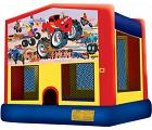 MONSTER TRUCK 2 IN 1 JUMPER (Aro de baloncesto incluido)