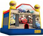 CARS PIXAR LICENSED BOUNCE HOUSE (Click for Details)