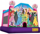 DISNEY PRINCESS II LICENSED JUMPERBOUNCE HOUSE ( New Edition )