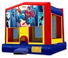 SPIDERMAN 2 IN 1 MODULE JUMPER (basketball hoop included)
