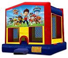 PAW PATROL 2 IN 1 JUMPER (basketball hoop included)