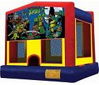 NINJA TURTLES 2 IN 1 BRINCOLIN (Aro de baloncesto incluido)