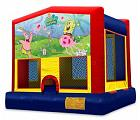 SPONGE BOB 2 IN 1 MODULE JUMPER (basketball hoop included)