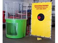 AFFORDABLE LIME DUNK TANK WITH WINDOW (500 gallon)