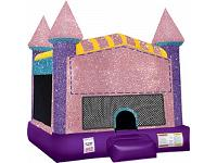 DAZZLING CASTLE LARGE (basketball hoop included)