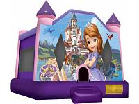 DISNEY SOFIA THE FIRST BOUNCE HOUSE (Available September 2017)