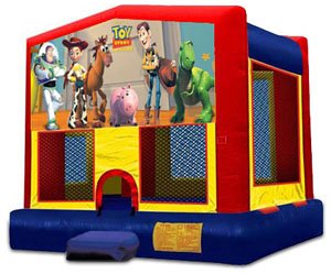 TOY STORY 2 IN 1 MODULE JUMPER (basketball hoop included)