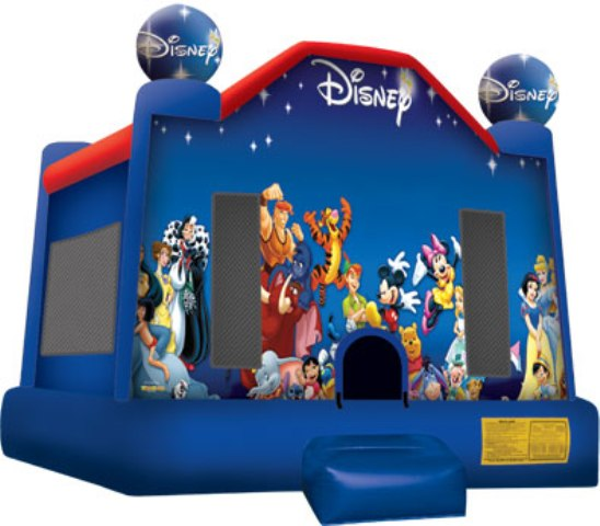 MICKEY\'S  WORLD OF DISNEY BOUNCE HOUSE (Click for Details)