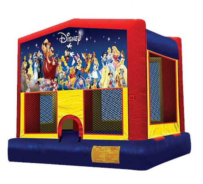 MICKEY\'S WORLD OF DISNEY 2 IN 1 (basketball hoop included)